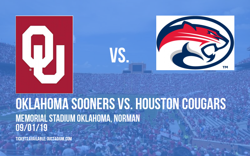 Oklahoma Sooners vs. Houston Cougars at Memorial Stadium Oklahoma