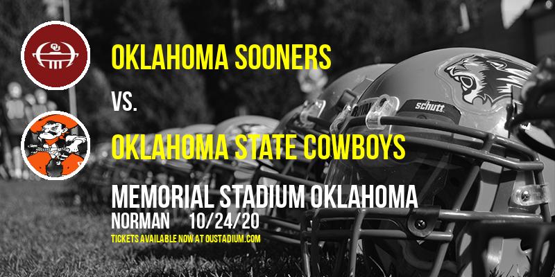 Oklahoma Sooners vs. Oklahoma State Cowboys at Memorial Stadium Oklahoma