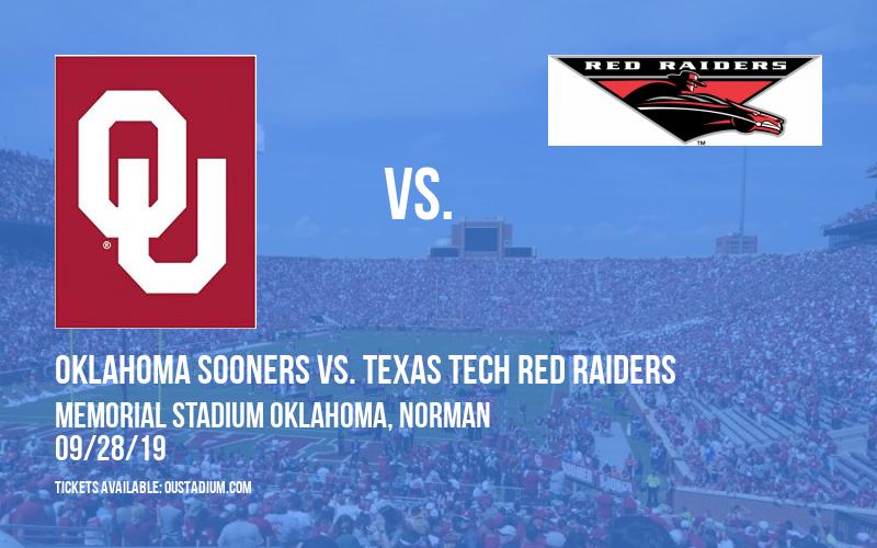 PARKING: Oklahoma Sooners vs. Texas Tech Red Raiders at Memorial Stadium Oklahoma