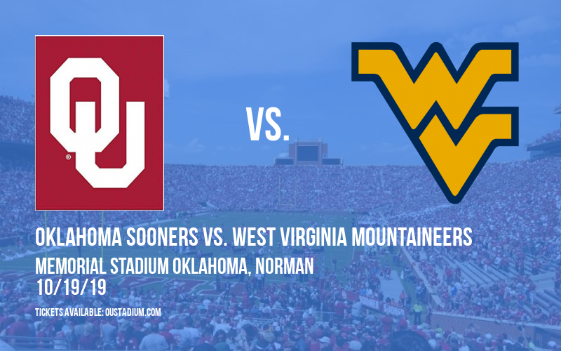 PARKING: Oklahoma Sooners vs. West Virginia Mountaineers at Memorial Stadium Oklahoma