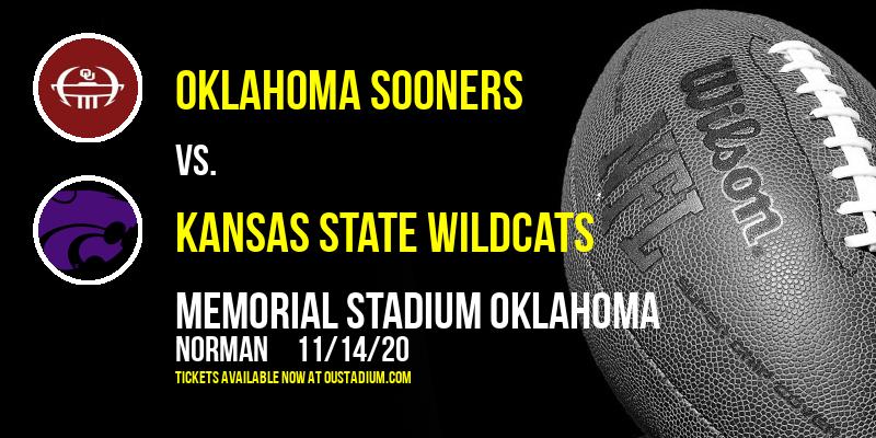 Oklahoma Sooners vs. Kansas State Wildcats at Memorial Stadium Oklahoma