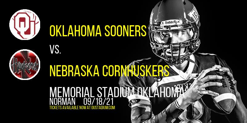 Oklahoma Sooners Vs. Nebraska Cornhuskers at Memorial Stadium Oklahoma