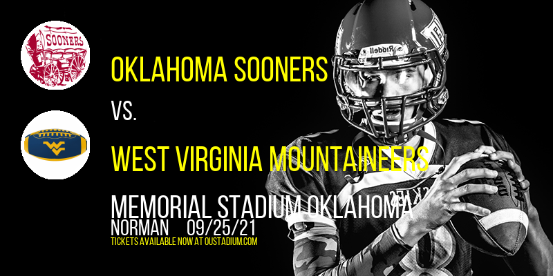 Oklahoma Sooners vs. West Virginia Mountaineers at Memorial Stadium Oklahoma