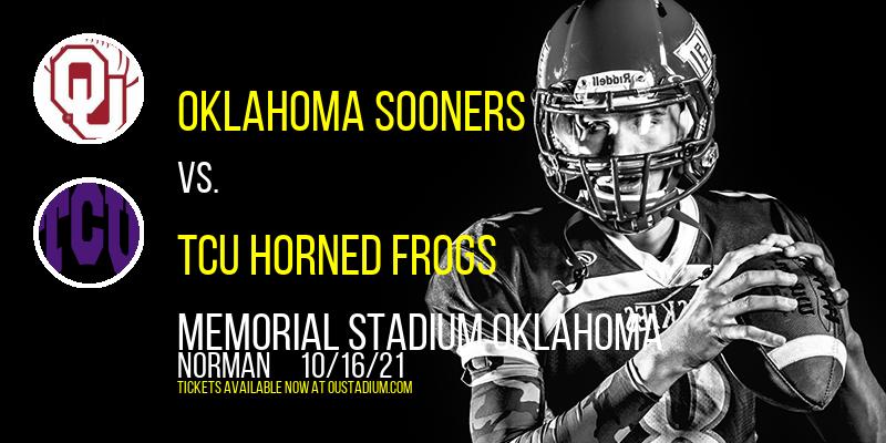 Oklahoma Sooners vs. TCU Horned Frogs at Memorial Stadium Oklahoma