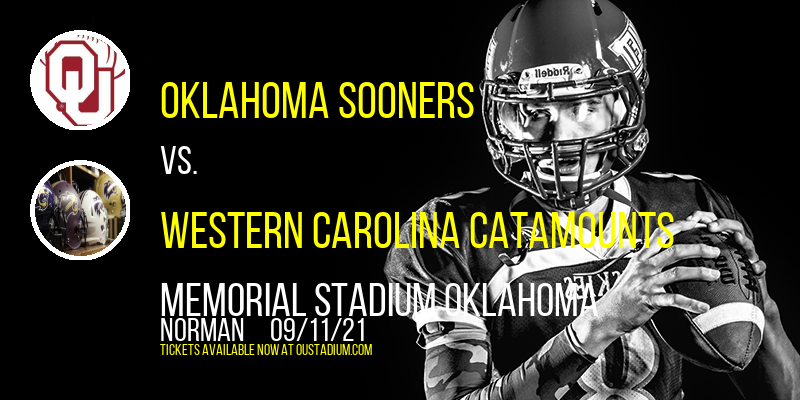Oklahoma Sooners vs. Western Carolina Catamounts at Memorial Stadium Oklahoma
